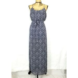 Forever 21 Geometric Maxi Dress